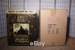 11 Life Size United Cutlery War Helm Of The Witch King Lord Of The Rings Helmet