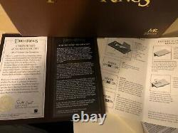 11 MASTER REPLICAS Lord Of The Rings THE ONE RING OF SAURON & FINGER Replica