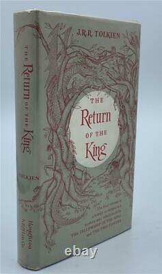 1956 Return Of The King First Edition Lord Of The Rings J. R. R. Tolkien Jacket