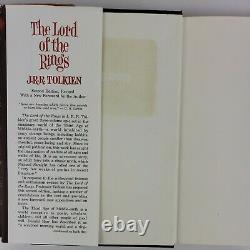 1965 Lord Of The Rings Trilogy Hardcover Book Boxed Set with Maps 2nd Edition