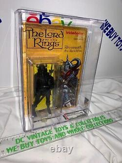 1979 Knickerbocker Lord Of The Rings Ringwraith Black Rider Action Figure AFA 50