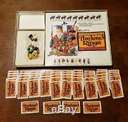 1979 The Lord Of The Rings Game Milton Bradley Complete Some Pieces Still Sealed