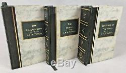 1991 Lord of The Rings Silmarillion & The Hobbit Decorative LOTR GUILD CLASSICS