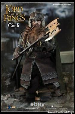 1/6 Asmus Toys Action Figure The Lord of the Rings Gimli LOTR018 In Stock