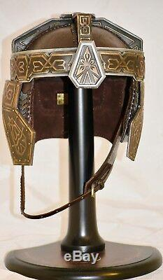2001 United Cutlery Lord of the Rings Helm of Gimli 11 Scale Numbered