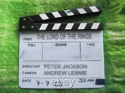 2003 Clapperboard For Lord Of The Rings Return Of The King J. R. R. Tolkien