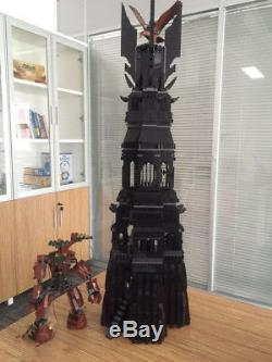 2430Pcs Lord of the Rings Tower Orthanic Building Blocks Toys Fits LEGO Sets Box