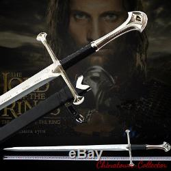 51 Lord of the Rings Anduril The Sword of Aragon holy sword Steel blade #0009