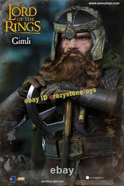 ASMUS TOYS LOTR018 1/6 Gimli Action Figure The Lord of the Rings Dwarf Model