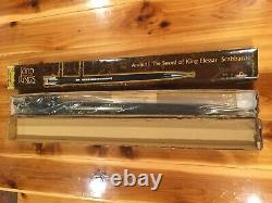 Anduril Scabbard United Cutlery UC1396LTNB Lord Of The Rings LOTR BRAND NEW wBOX