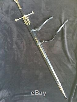 Anduril with Scabbard UC1380 & UC1396 Lord of The Rings United Cutlery LoTR HOBBIT