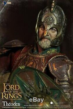 Asmus Toys LOTR22 The Lord of the Rings Series King of Rohan THEODEN 1/6 Figure