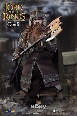 Asmus Toys The Lord of the Rings Series Dwarf Warrior Gimli 1/6 Figure