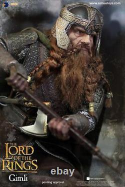 Asmus Toys The Lord of the Rings Series Dwarf Warrior Gimli 1/6 Figure IN STOCK