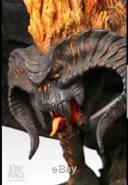 BALROG FLAME OF UDUN Statue. Lord of the Rings. Sideshow Weta. NEW! Very Rare