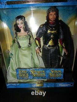 Barbie Collectibles Lord of the Rings Barbie & Ken as Arwen and Aragon