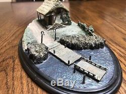 Bucklebury Ferry LOTR Weta Sideshow Statue Lord of the rings