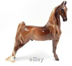 China Lord Of The Ring Saddlebred Model Horse Made By J. Reid Glazed By M. Para