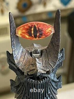 Danbury Mint BARAD-DUR The Dark Tower Of Sauron Lord Of The Rings Glowing Eye