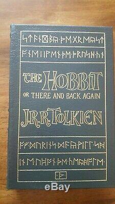 EASTON PRESS Tolkien Hobbit Lord of the Rings Silmarillion Set of 5 SEALED LOTR