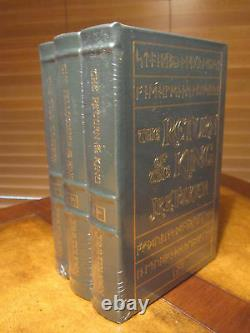 Easton Press LORD OF THE RINGS 3 VOL Tolkien SEALED