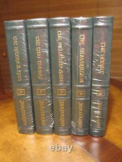 Easton Press TOLKIEN 5 VOL SEALED Lord of the Rings, Hobbit, Silmarillion