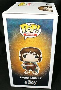 Elijah Wood Frodo Baggins Chase Signed autograph Lord Of The Rings Funko POP PSA