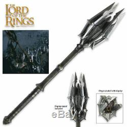FULL SIZE Mace of Sauron Lord of the Rings LOTR Hobbit United Cutlery UC3034