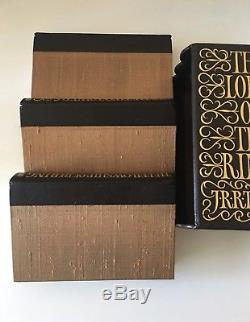 Folio Society Limited Numbered THE LORD OF THE RINGS TRILOGY J. R. R. Tolkien