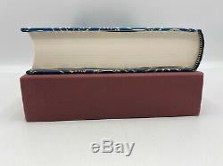Folio Society THE SILMARILLION JRR Tolkien Lord of the Rings COLLECTORS Edition