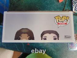 Funko Pop Lord Of The Rings Aragorn & Arwen 2 Pack 2017 SDCC Shared Exclusive
