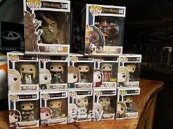 Funko Pop Lord Of The Rings Lot 12 Pops Frodo Gandalf Legolas Balrog Elrond