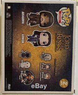 Funko Pop! Lord of the Rings Aragorn & Arwen 2017 Summer Convention Exclusive