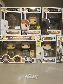 Funko pop aragorn arwen Lord Of The Rings Sdcc 2017