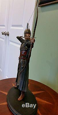 Galadhrim Archer Lord of the Rings Sideshow Weta LOTR