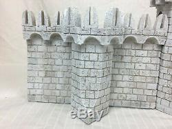 Games Workshop Lord Of The Rings Minas Tirith Battle Castle Walls Fortress