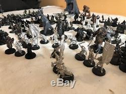 Games Workshop Lord of the Rings Evil Army Uruks Orcs Goblins Assembled Force