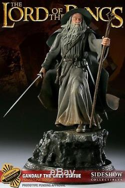 Gandalf the Grey Statue Lord of the Rings Sideshow Exclusive