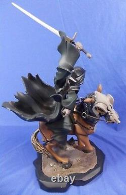 Gentle Giant Lord Of The Rings Ringwraith On Horse Animaquette Statue #0965/1500