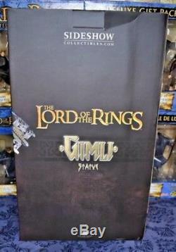 Gimli the Dwarf Statue Lord of the Rings Sideshow #0574 of 1000 LOTR