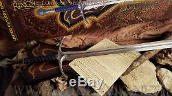 Glamdring Sword of Gandalf, Lord of the Rings, United Cutlery, UC1265 LOTR Weta