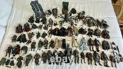 HUGE LOT 65+ Lord of the Rings Action Figures Toybiz, Marvel LOTR Toys