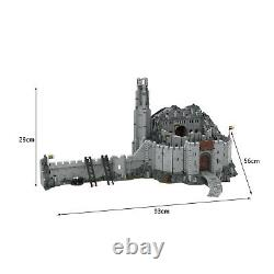 Helm's Deep Fortress with Interior Building Bricks for The Lord of the Rings