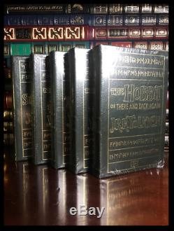 Hobbit Lord Of The Rings & Silmarillion J. R. R. TOLKIEN New Easton Press Leather