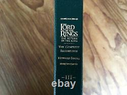 Howard Shore Lord Of The Rings The Return Of The King 6 LP VINYL NEAR MINT