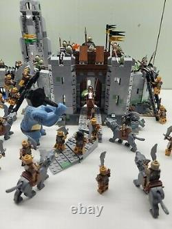 Huge Lot! Lego Lord of the Rings Helms Deep And Hobbit, Kingdom, Castle Minifigs