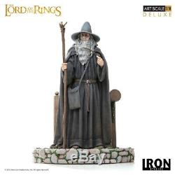 Iron Studios Lord of the Rings Wizard Gandalf Deluxe Art Scale 1/10 Statue