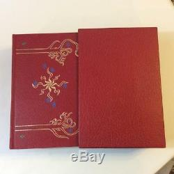 JRR Tolkien The Lord of the Rings 1966 Leather Bound Box Set Collector's Ed