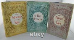 JRR Tolkien The Lord of the Rings Trilogy First US Editions First Printings