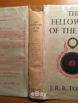 JRR Tolkien The Lord of the Rings UK First Edition, 1959, 3rd State slipcase
